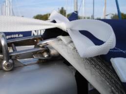 Inken Eilers - Schutz ihrer Segel - Luffe und Persenning